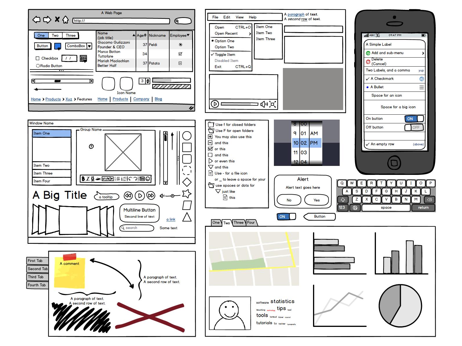 Programa de pre diseño webs