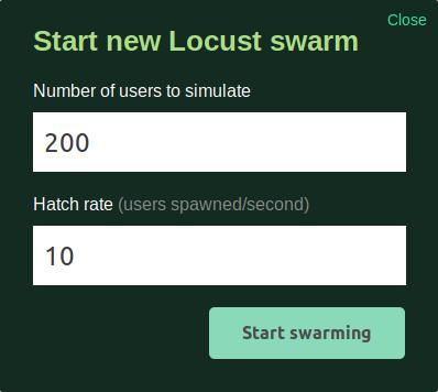 Número de usuarios a simular en nuestra web