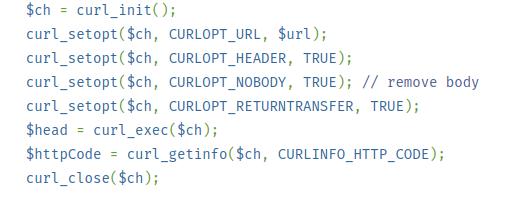 Gestionar cabeceras con php y curl