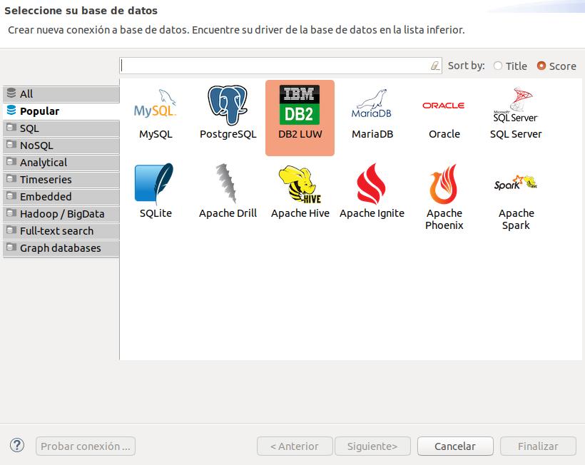 múltiples bases de datos